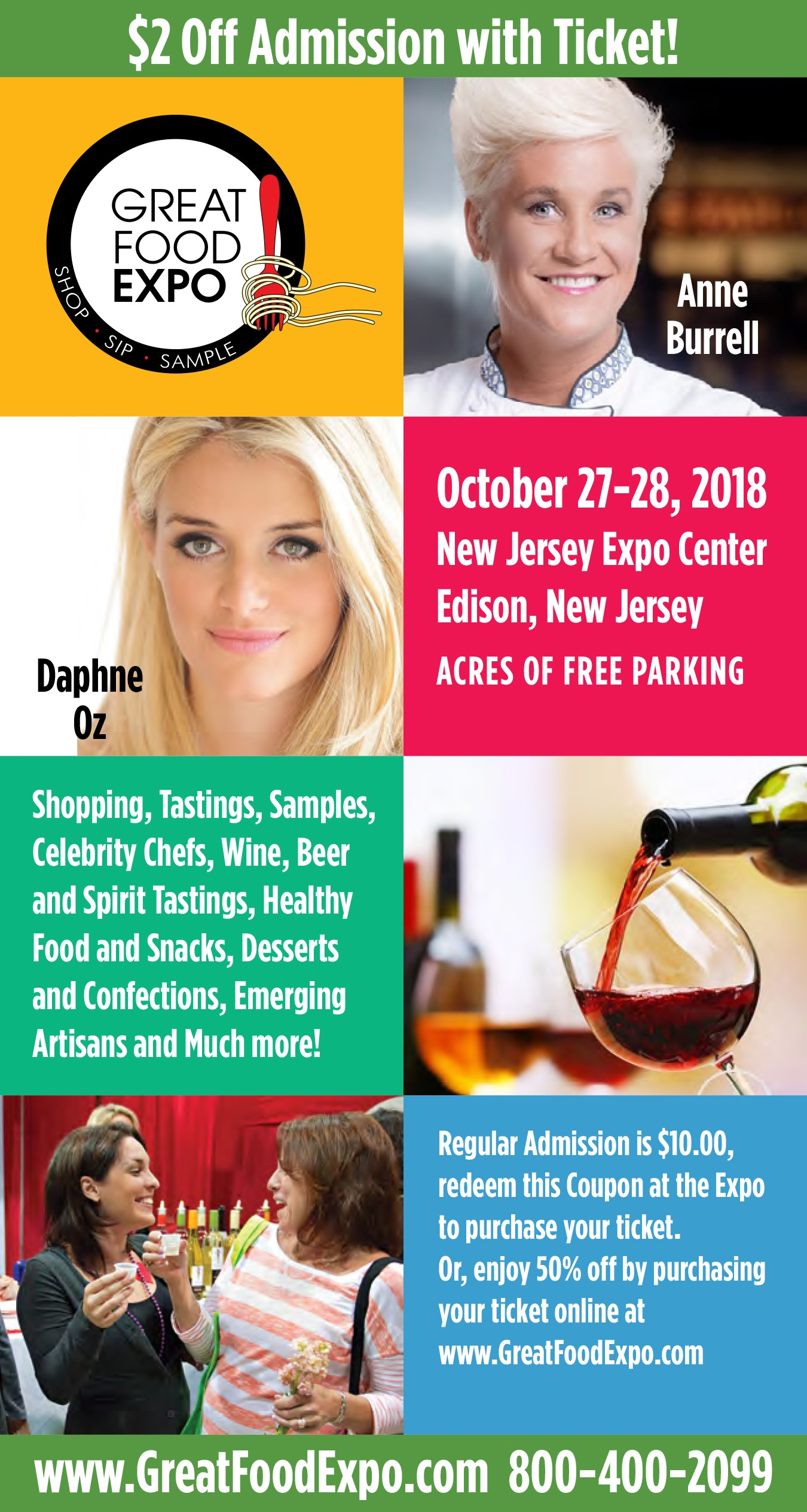 Great Food Expo Tickets